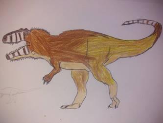 Dinovember day 29: giganotosaurus carolinii by Dromeothetroognathus