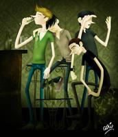 The good old friends by caioscardoso