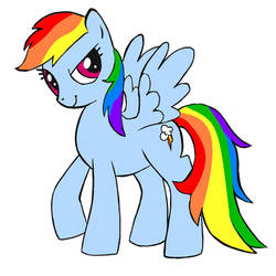 MLP Rainbow Dash by studentofdust
