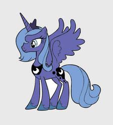 MLP Princess Luna by studentofdust