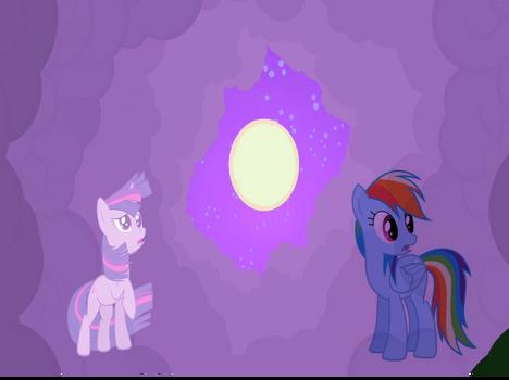 Rainbow Dash and Twilight for somethingrandom789