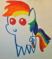 Rainbowdash by CatwarriorsRule123