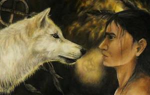 Spirit Walk Wolf by RickyCrabbit
