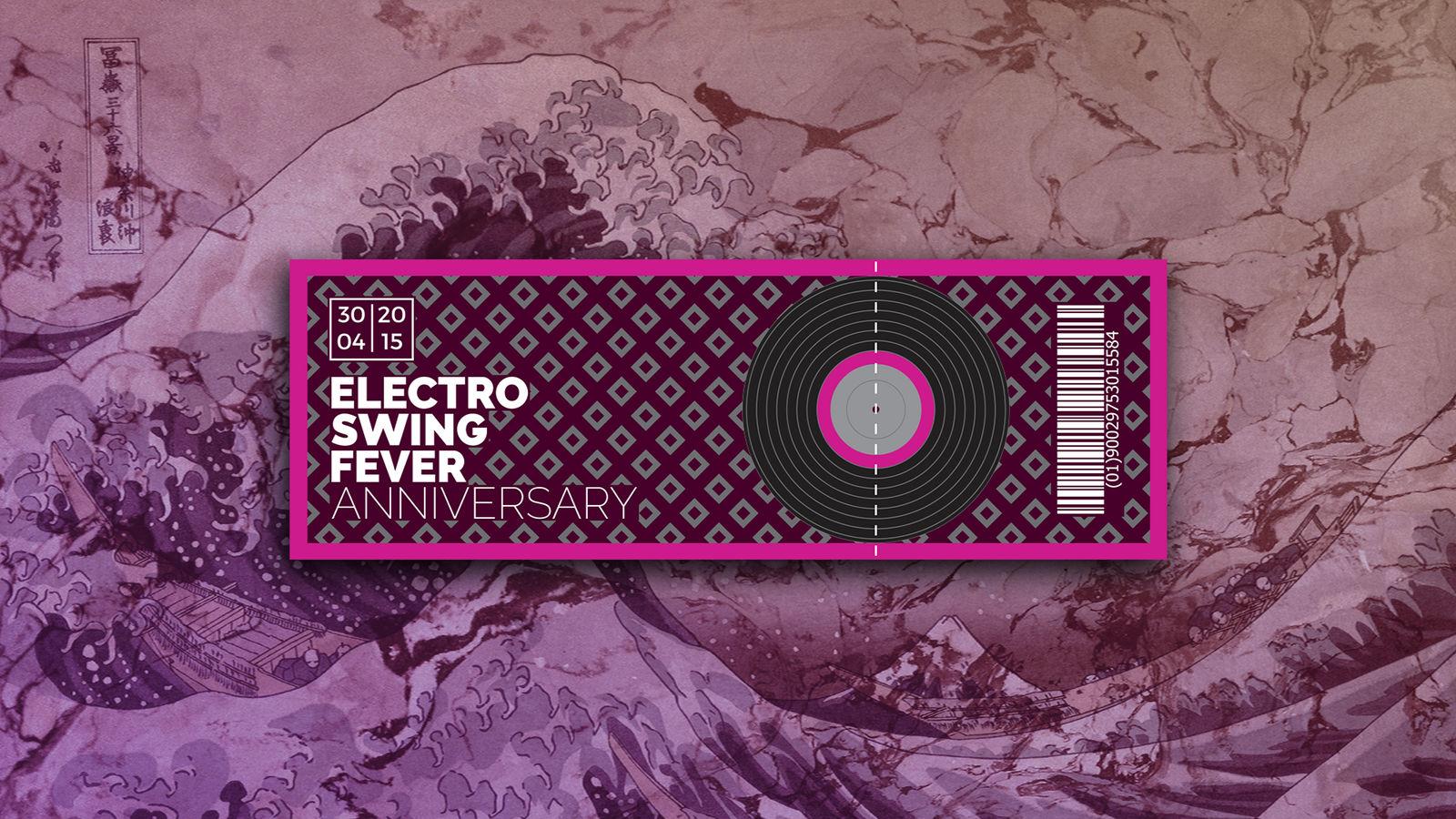 Electro Swing Fever Ticket By Kevinwscherrer On Deviantart