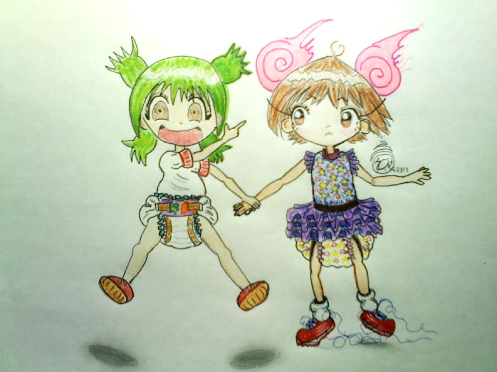 Yotsuba & Diapers by SuperCuteBomb