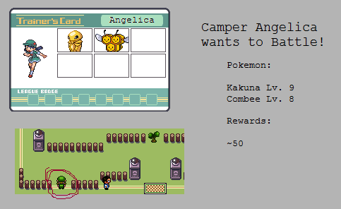 Gym - Camper Angelica by MyPokemonStory