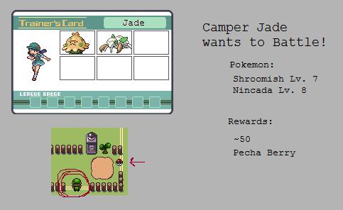 Gym - Camper Jade by MyPokemonStory