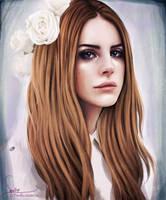 Speed Painting: Lana Del Rey by Dasyeeah