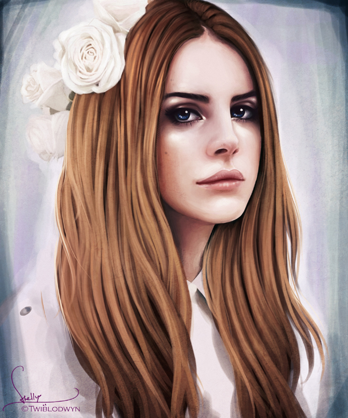 Speed Painting: Lana Del Rey by Dasyeeah on DeviantArt