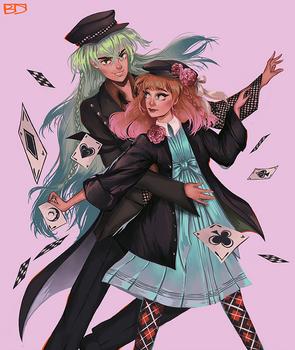 Ukyo and Heroine (Amnesia)