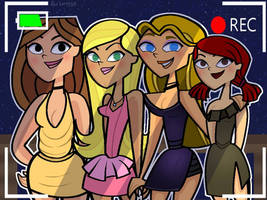 Girls night out! (Total drama/Ridonculous Race)