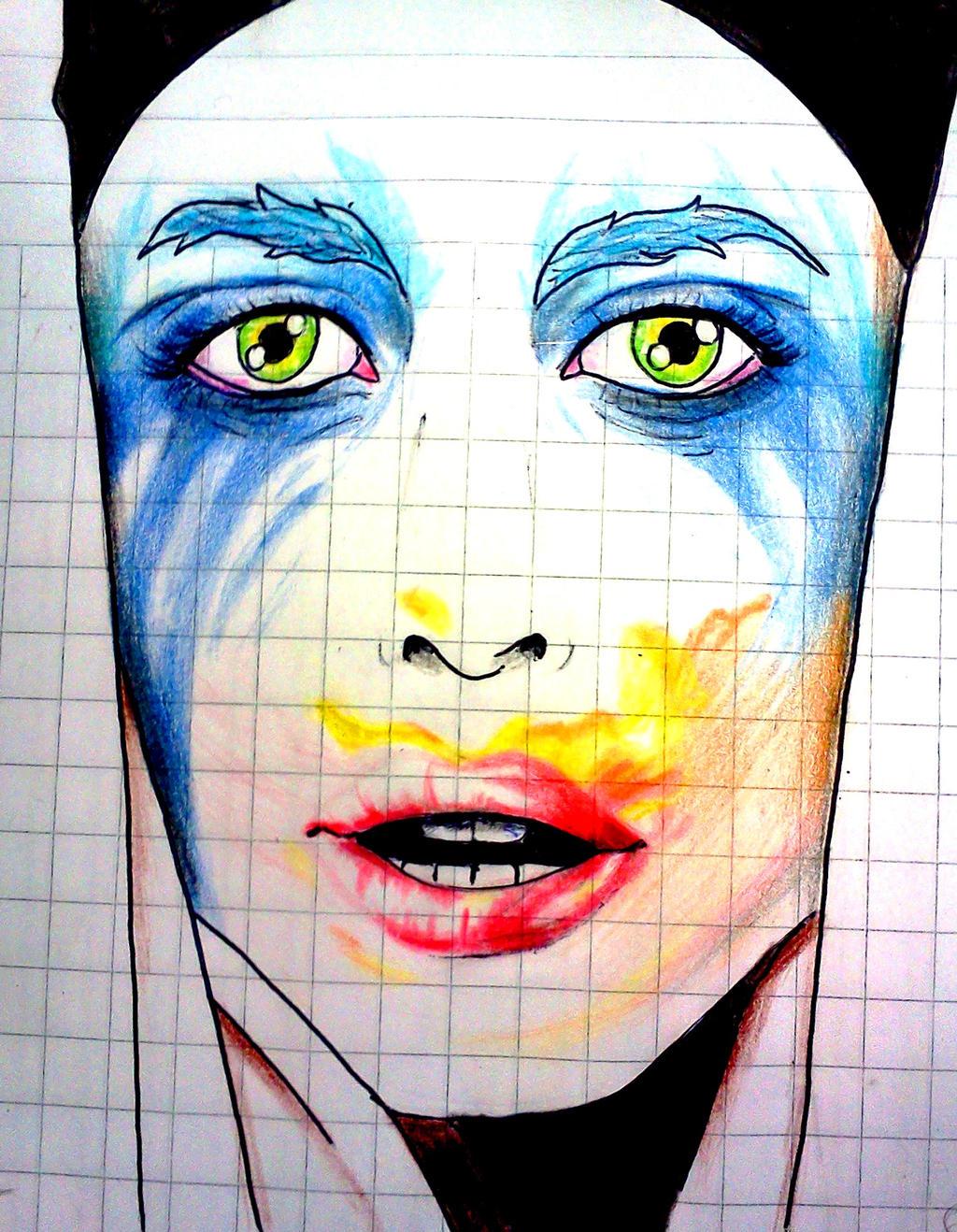 Lady Gaga - Applause by VictorGago on DeviantArt