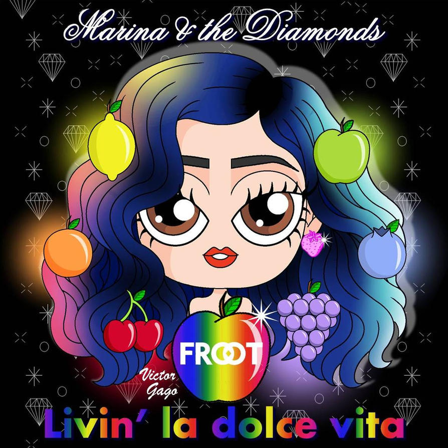 Chibi Marina and the Diamonds - Froot 2 by VictorGago on ...