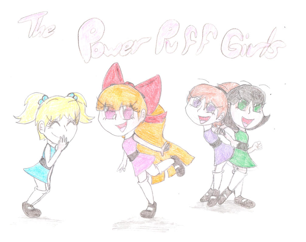 The Power Puff Girls o''o by Cherryberrybonbon