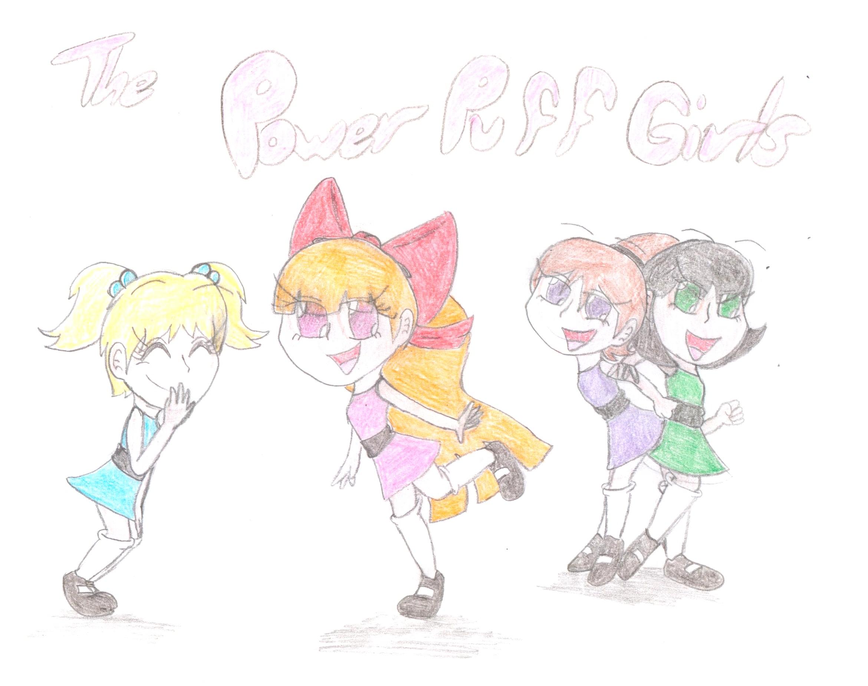 The Power Puff Girls o''o by Cherryberrybonbon