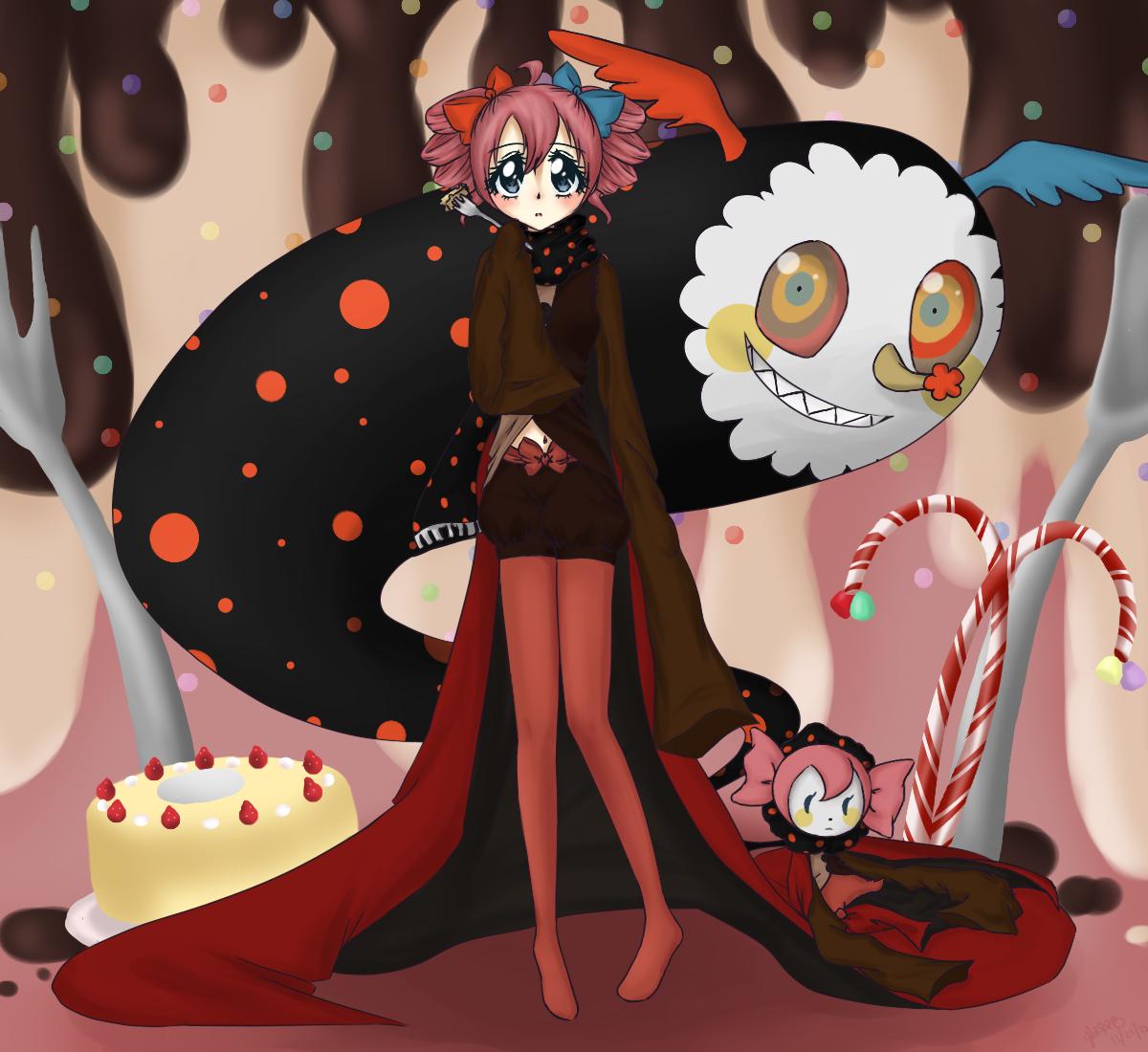 Madoka Magica Cake Song English Dub