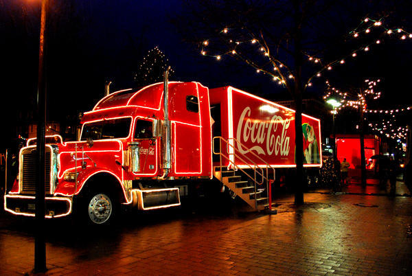 the coca cola truck no 2 by lani heartcore on deviantart. Black Bedroom Furniture Sets. Home Design Ideas