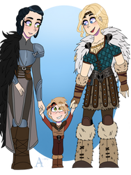 The Hofferson Family  by andrea0325