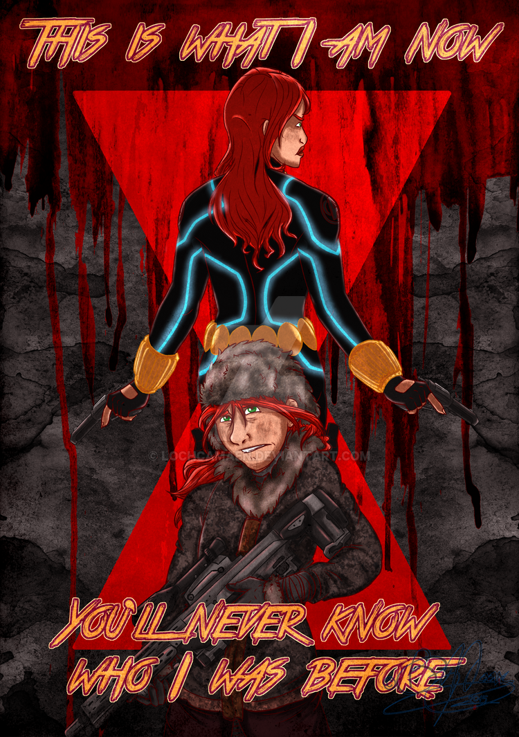 Black Widow - Who I Was by LochCamaen