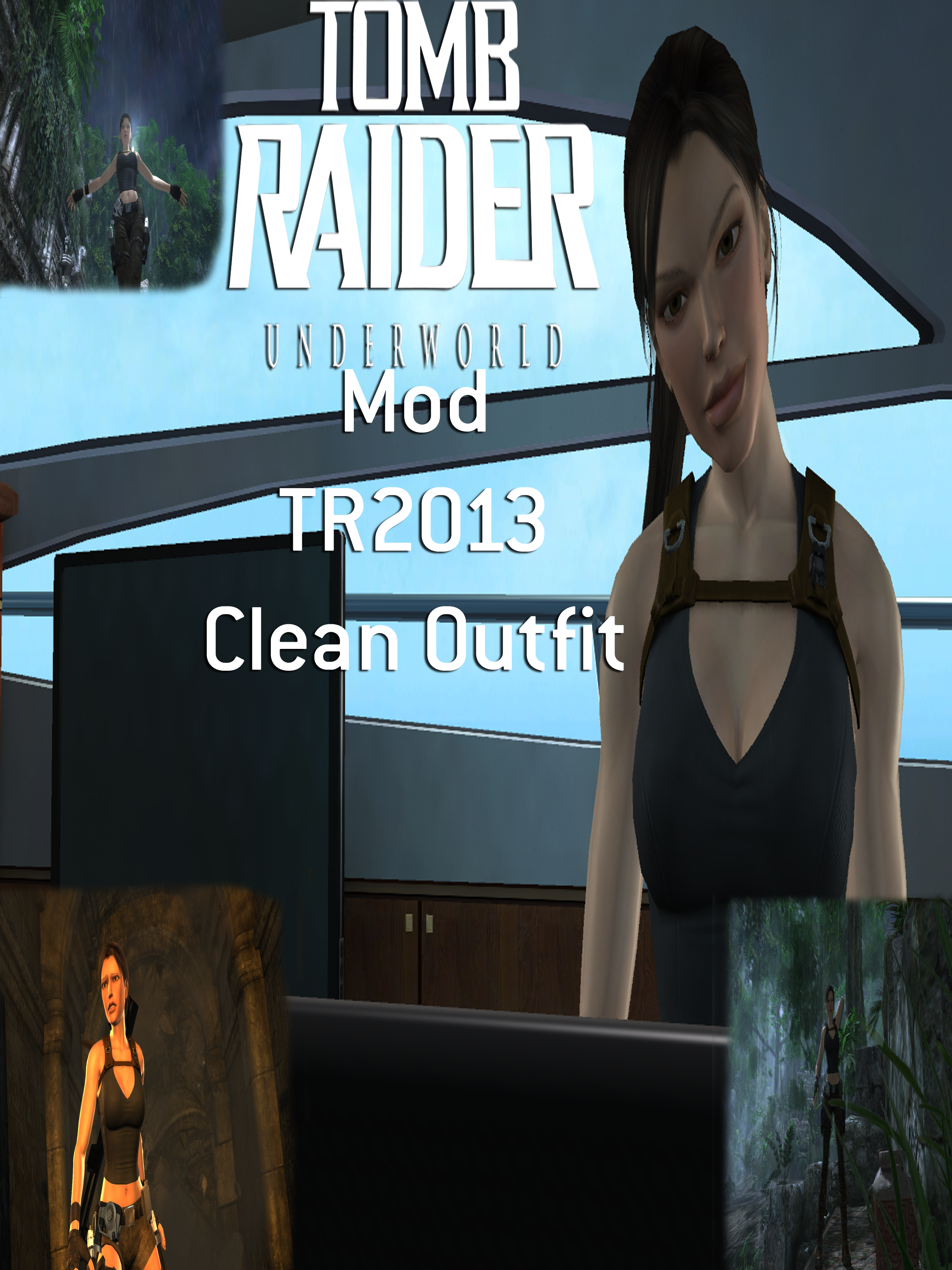 Tomb Raider: Underworld - All Outfits (PS3) - YouTube
