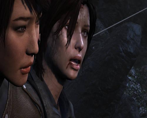Tomb Raider 2013 (Screenshot)-Lara n Sam #12