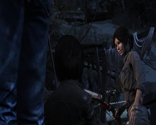 Tomb Raider 2013 (Screenshot)-Lara n Sam #13