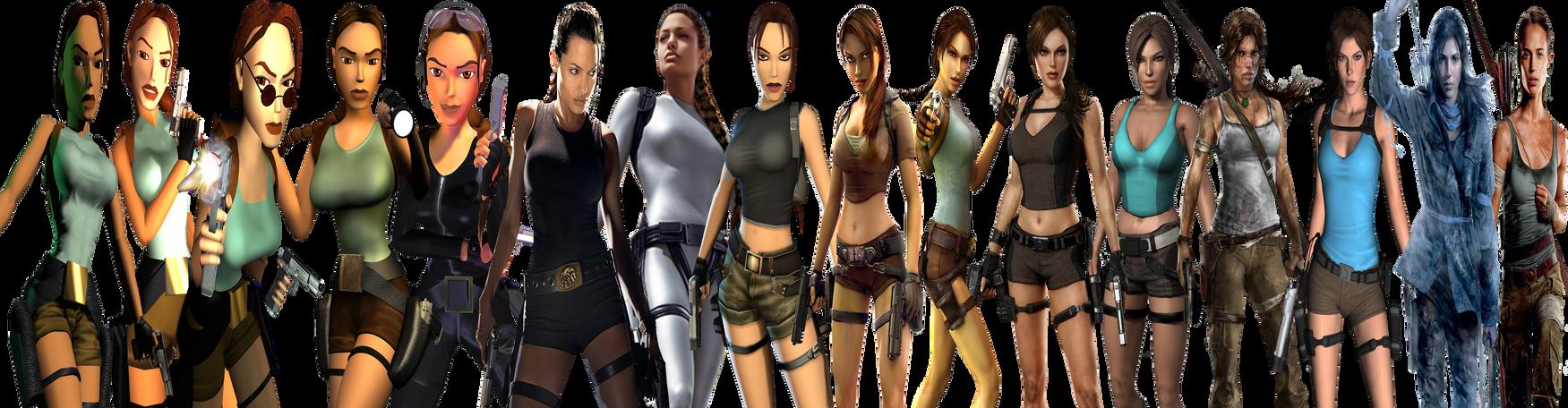 Tomb Raider (1996-2018) 50th Birthday Lara Croft by Eddy7454
