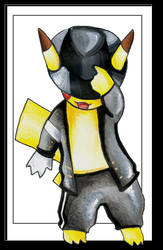 Micheal Jackson... pikachu by a-small-piece-of-ham