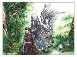 Mordimer + Angel by anachsunamon