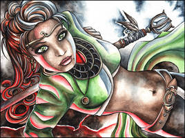 The Sorceress by anachsunamon