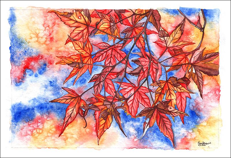 Autumn Sunshine by anachsunamon