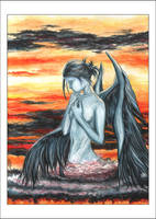 :Born at Sunset: by anachsunamon