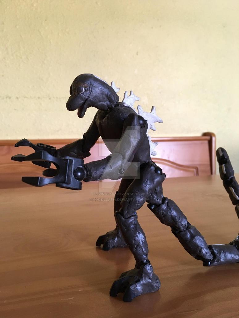 Clay Godzilla By Godzilla154 On Deviantart