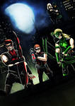 Young Justice Arrow Family