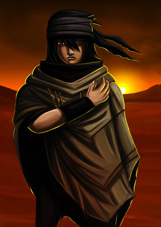 Sasuke Uchiha Naruto the last movie attire by ErgoAsch on