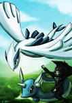 Pokemon Advent 2 Lugia and lance