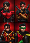 The bat family Robins together