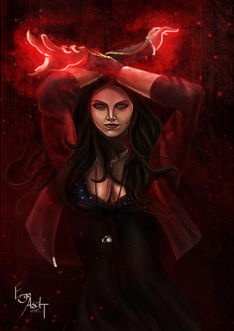 Scarlet Witch Age Of Ultron By ErgoAsch