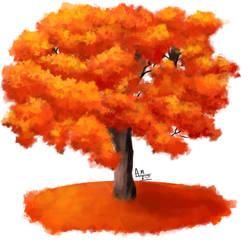 orange tree by ErgoAsch