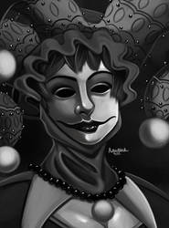 Masked jester by ErgoAsch