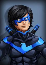 hey Nightwing by ErgoAsch