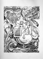 tonal drawing by im-ella