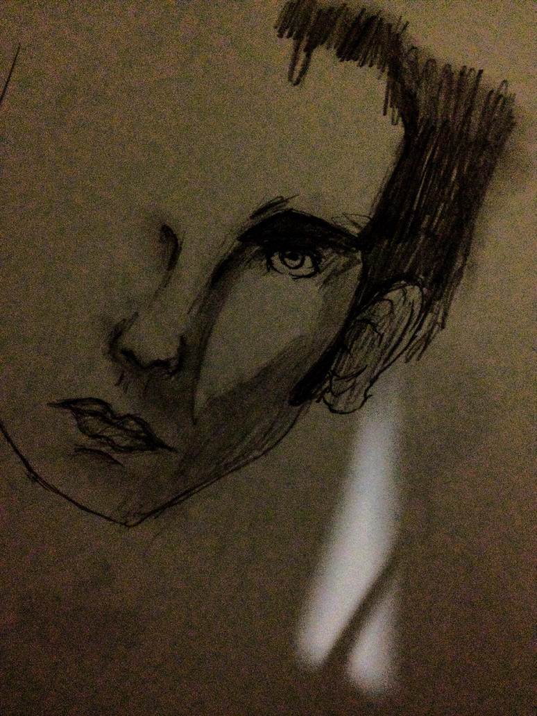 Unfinished crappy realism drawing... by shevinshevinly