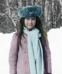 Anastasia in winter by Maydy