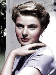 Ingrid Bergman by Maydy
