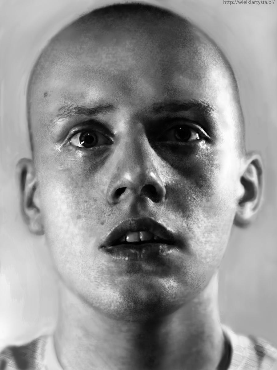selfportrait-digital painting by Kordianl