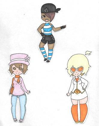 Pokemon Peeps Sketch Dump by Manison