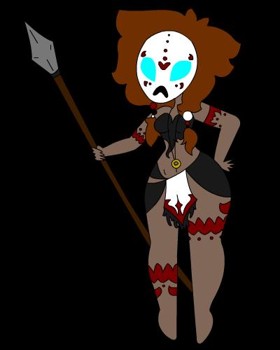 Tribal Warrior Queen by Manison