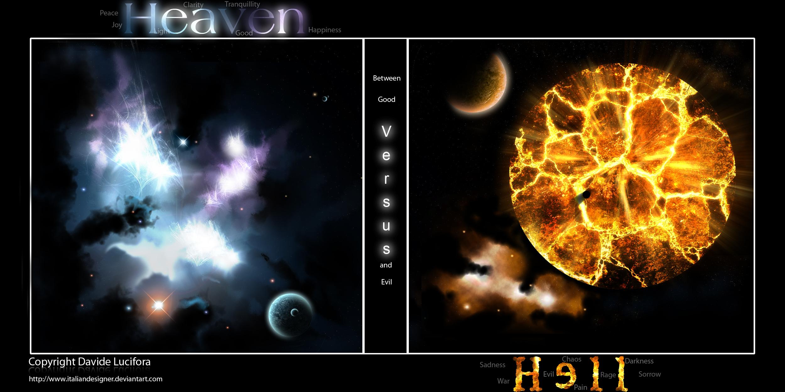 heaven vs hell art - photo #19