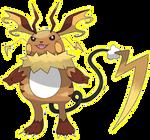 027 Gorochu, the Mouse Pokemon